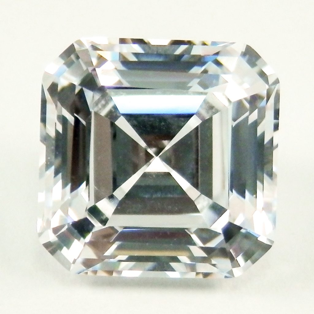 shop asscher vintage diamond ring cut products platinum