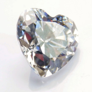 Heart Cut My Russian Diamond Simulant