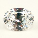 Oval Cut My Russian Diamond Simulant