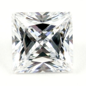 Princess Cut My Russian Diamond Simulant