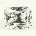 Rectangular Radiant Cut My Russian Diamond Simulant
