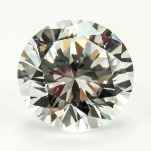 Round Brilliant Cut My Russian Diamond Simulant