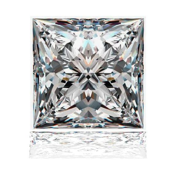 Princess Cut My Russian Diamond